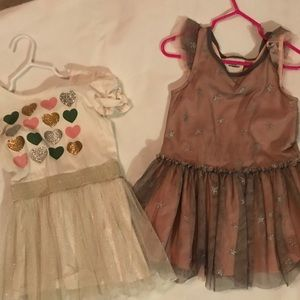 Two toddler dresses